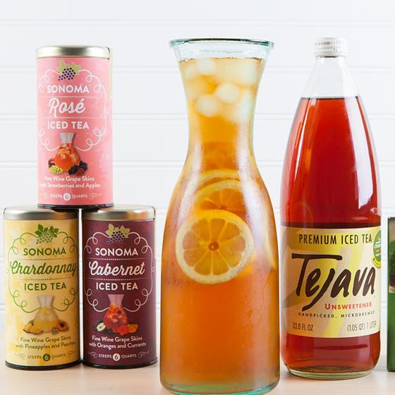 Sonoma and Tejava iced teas