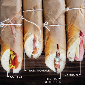Bocadillos sandwiches