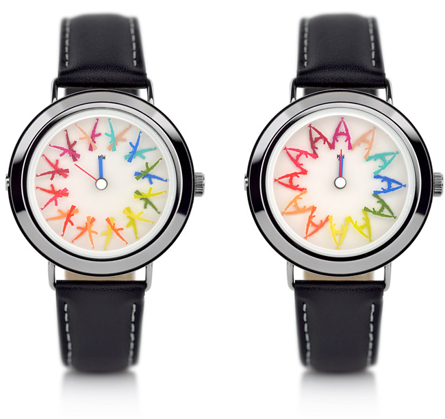 Flower Power new from Mr Jones Watches