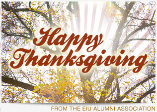 Happy Thanksgiving from the EIU Alumni Association