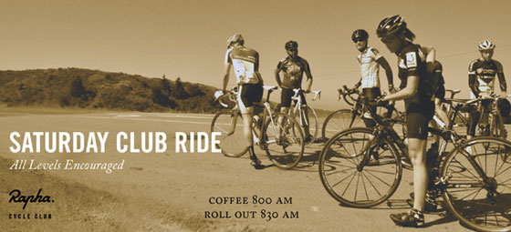 Saturday Club Rides
