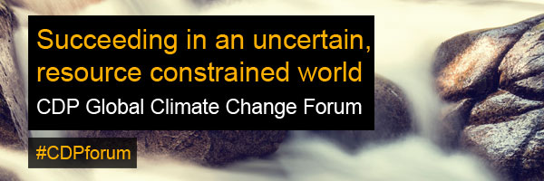 CDP Global Climate Change Forum