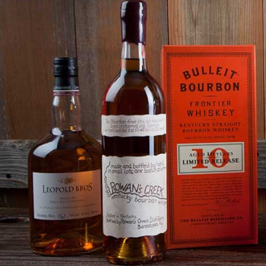 Leopold Bros. Rowan's Creek and Bulleit Bourbon