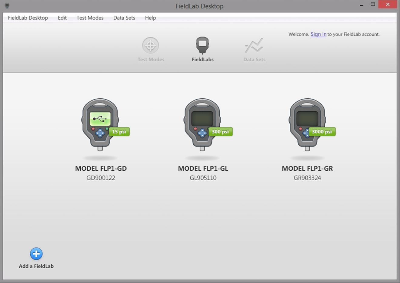 FieldLab Desktop App