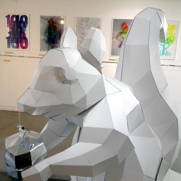 Stereohype at Illustrators' Fair, London