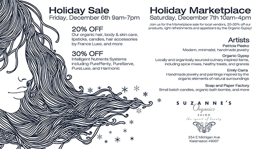 Click to view our Holiday Sale postcard