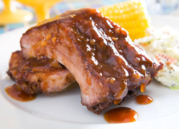 Mango Glazed Baby Back Ribs