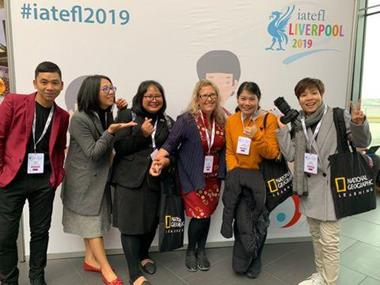 A group of Thai Master Trainers at IATEFL