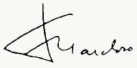 Fernando Henrique Cardoso signature