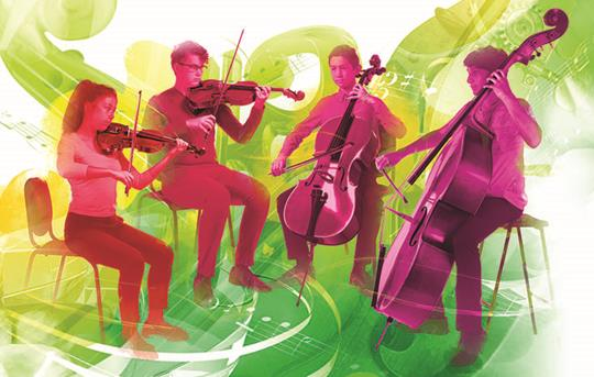 Bowed Strings artwork