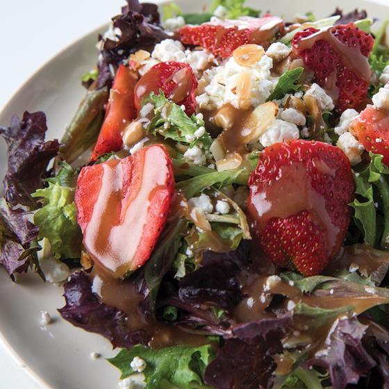 Strawberry & Almond Salad