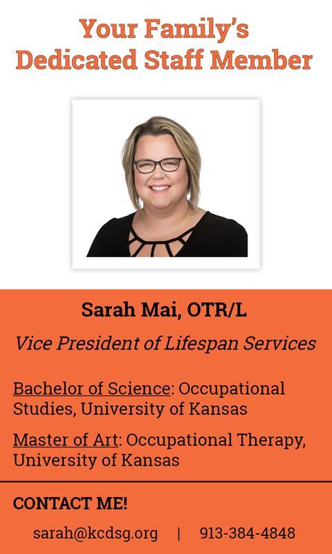 Email Sarah!