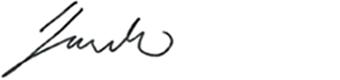 Signatur Hannes Gautschi