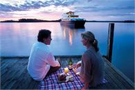 Pier W4 - Strahan. Tourism Tasmania