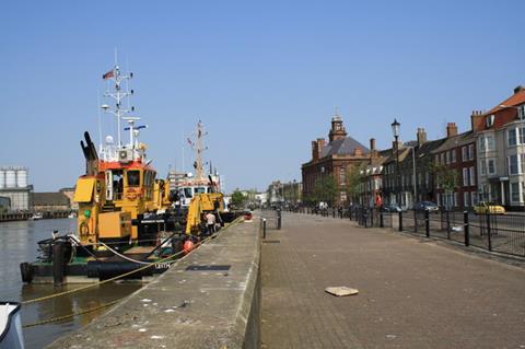 Yarmouth docks