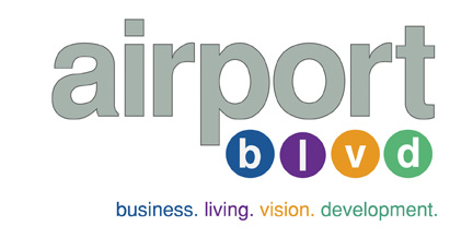 AIrport Blvd logo
