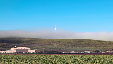 The Lompoc Valley property is surrounded by Vandenberg AFB on three sides and is less than a half-mile from the impact limit line for Space Launch Complex-3, used to launch the Atlas V rocket.