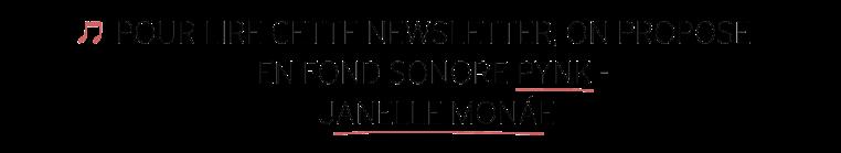 Fond Sonore