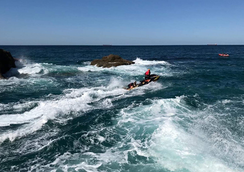 Lifesavers Rescue Pair From Rock Cave