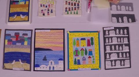 Miniature Shadow Applique Quilt Kits with Julia Gahagan