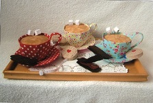 One lump or Two - sewing kit pattern designed by Gail Penberthy