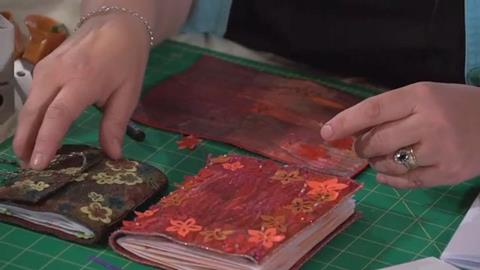 Textured books with Kathleen Laurel-Sage