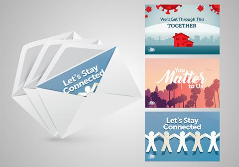 Stay Connected Note Card Set