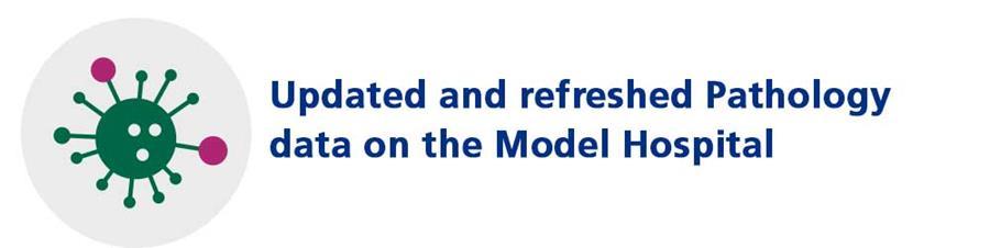Updated and refreshed Pathology data on the Model Hospital