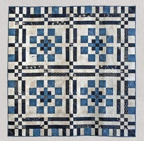 Victoria - a quilt pattern by Janet Clare