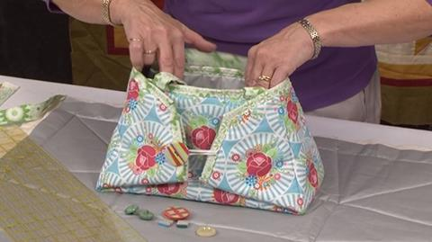 Iron Caddy Tote sewing project with Valerie Nesbitt