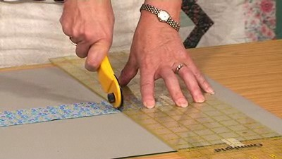 Rotary Cutting strips, squares and rectangles