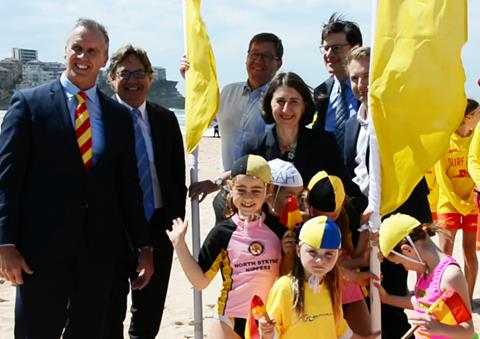 Flags Are Up As Surf Lifesavers Hit The Beach
