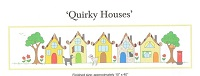 Quirky Houses pattern by Kjersti Smith