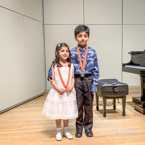Winter Music Recital in Houston