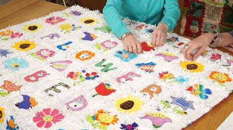 Raggy Edged Quilts with Gail Penberthy