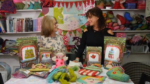 Meet Gillian Harris at her Fluff-a-torium in Dorking