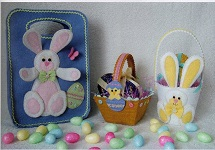 Easter Bag Trio