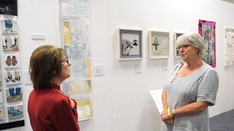 Unfolding Stories 3 - a textile exhibition by the group Contemporary Quilters West