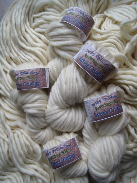 Trapunto Wool - Super New Wool from Sylvia Critcher