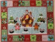 Gingerbread Advent Calendar from Gail Penberthy