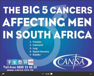 Big 5 Cancers: Men