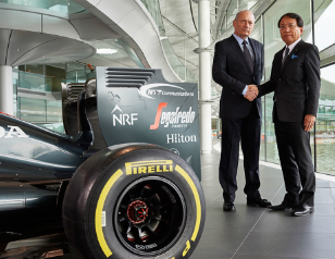 McLaren-Honda and NTT Communications announce three year partnership