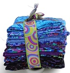 Turquoise Fabric Bundle by Kaffe Fassett