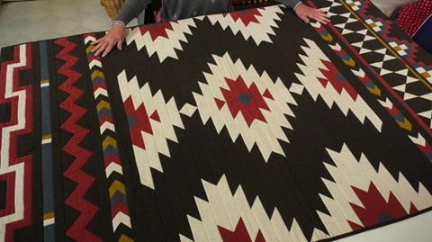Navajo Blanket Quilt - Final part with Anne Baxter