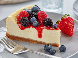 Picture of: Smooth and Sweet Cheesecake