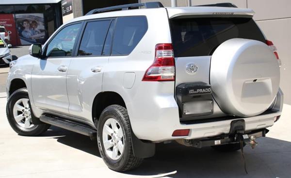 2014 Toyota Prado GXL - Rear