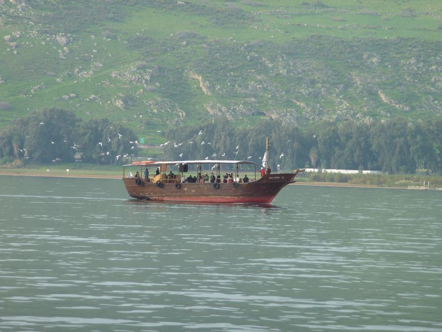 Sail the Sea of Galilee Travel with Maranatha Tours