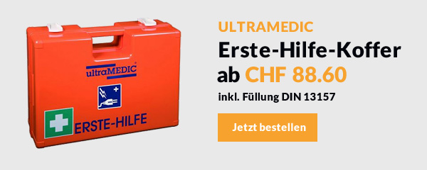 Ultramedic – Erste-Hilfe-Koffer ab CHF 88.60