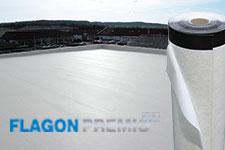 FLAGON Premio Stick est un lé autocollant à froid en TPO