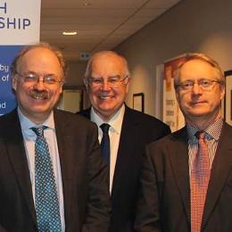 Sir Mark Walport, Sir Alan Langlands, Prof Nick Wright